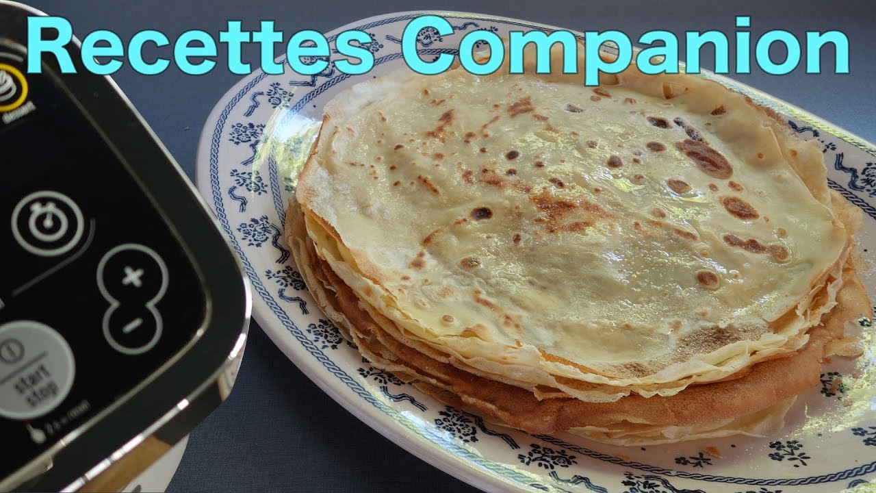 Recettes Companion Pate A Crepes Allegee Youtube