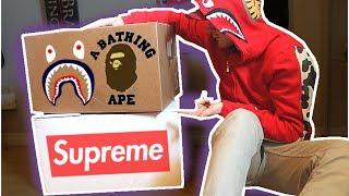 20 POUNDS OF HYPEBEAST PICKUPS! CRAZY UNBOXING!!