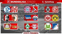 FIFA 19: Spieltag 5 - Saison 19/20 l Bundesliga - Prognose l Deutsch [HD]