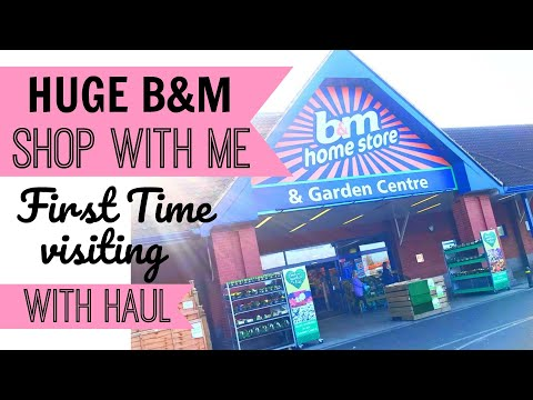 SHOPPING IN A HUGE B&M | With a Haul | First Time In B&M | What Bargains Can I Find?