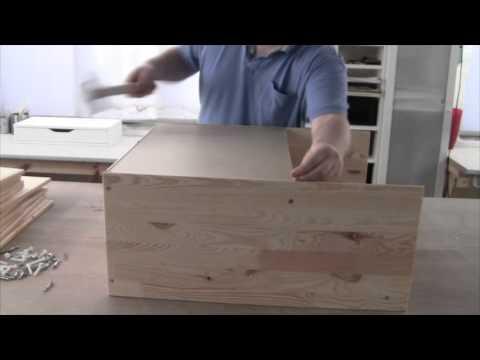 Assembling the IKEA RAST - 3 Drawer Chest