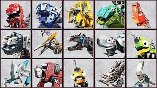 DINOTRUX: Trux It Up! - 16 Characters | Eftsei Gaming