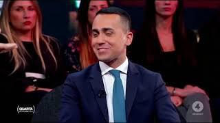 Luigi Di Maio ospite a Quarta Repubblica 10/12/2018