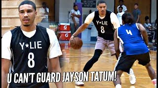 U CAN'T GUARD Jayson Tatum! Straight CASHIN' In Patrick McCaw Pro Am! Makes It Look EASY!