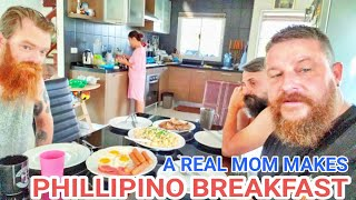FIERY FOODS: Real Phillipino Mom Makes Breakfast