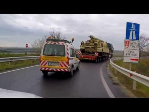 [MAHARTLOG-Mafracht Kft.] Tankszállítás - Project Logistics & Special Transport in Hungary