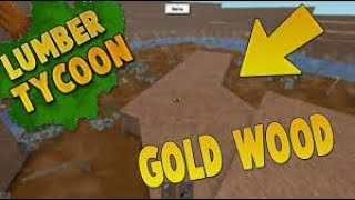 ROBLOX MODDED LUMBER TYCOON GETTING A GOLD WOOD EP#1