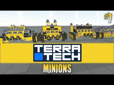 Terratech: Minions #7 Working Harvester AI!