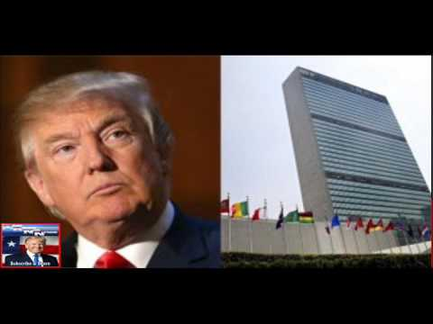 They Did It! GOP Introduces Bill to DEFUND the United Nations
