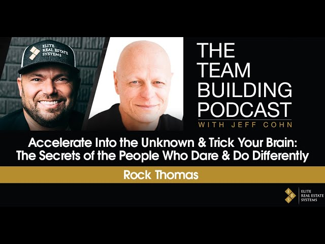 Accelerate Into the Unknown & Trick Your Brain: The Secrets of the People Who Dare & Do Differently
