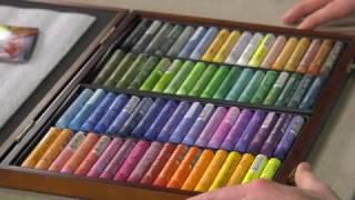 Mungyo Gallery Artist Soft Oil Pastels - Product Demo screenshot 3