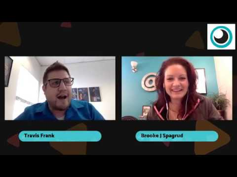 Creative Coffee Cafe, Episode 1: The inaugural kick off chat with Travis Frank and Brooke J Spagrud
