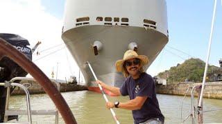Panama Canal Adventures (Sailing La Vagabonde) Ep. 36