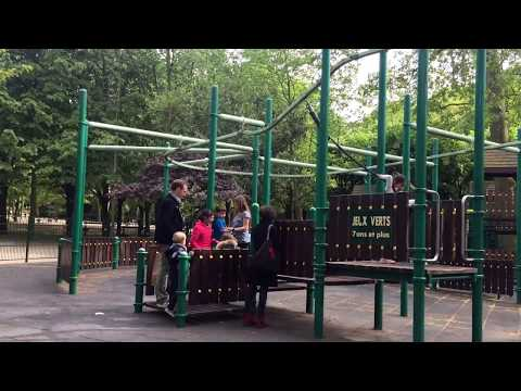 Luxembourg Gardens playground Paris, France