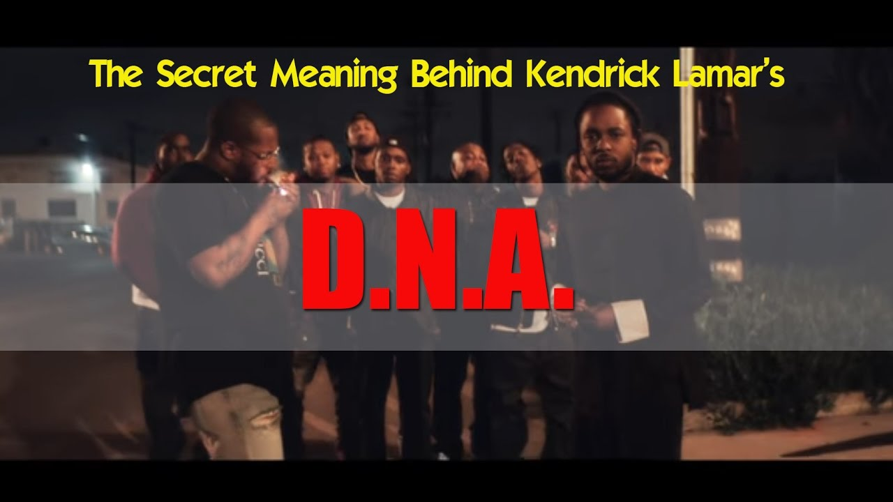 Kendrick Lamar -DNA. & The Secret Meaning [Reaction]-DAMN ...