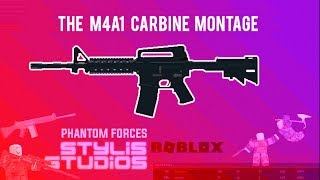 ROBLOX Phantom Forces - M4A1 Carbine Montage