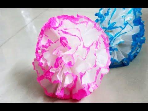 paper flower,tissue paper flower