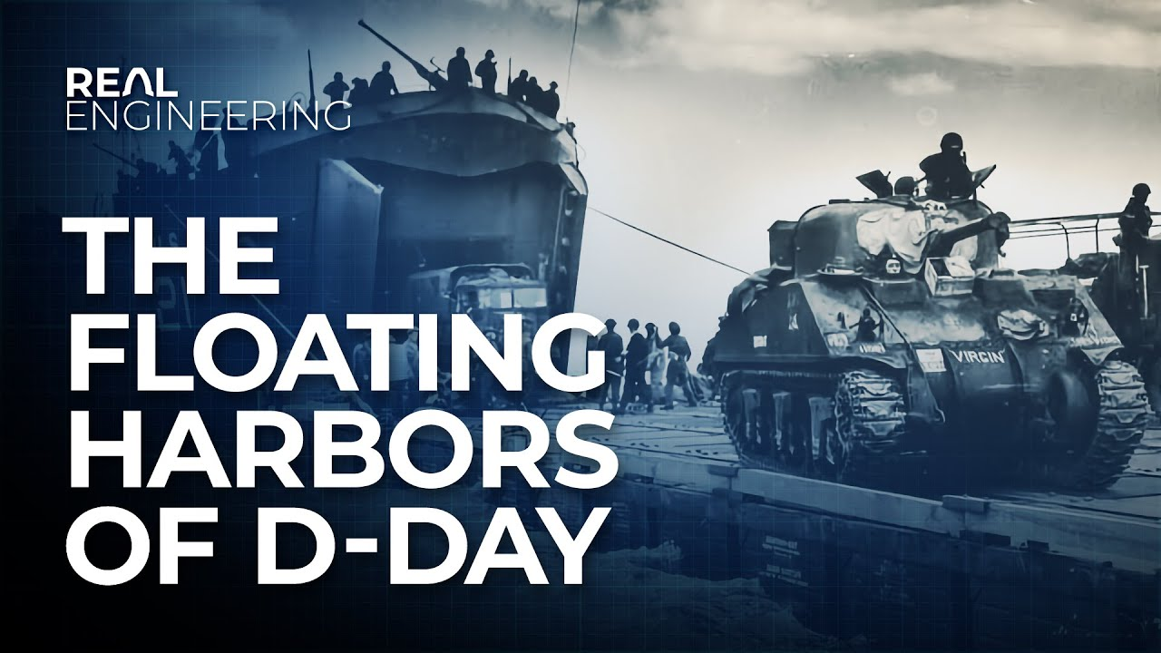 The Floating Harbors of D-Day