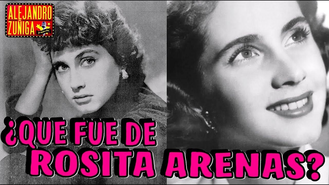 Que Fue De Rosita Arenas Actriz Mexicana