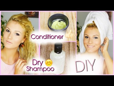 diy conditioner und trockenshampoo youtube. Black Bedroom Furniture Sets. Home Design Ideas