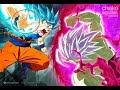 Goku VS Merged Zamasu COLOR full fight 720p60fps