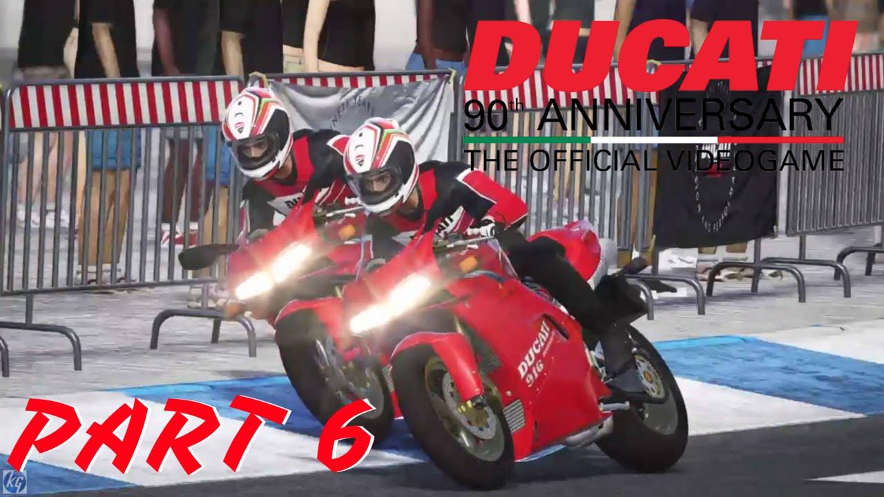 ducati 90th anniversary part 6 - ducati 916 3 race championship