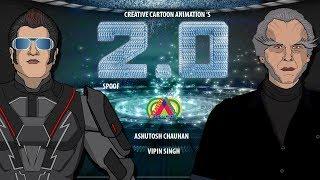 2.0 Robot de la película | Rajinikanth | Akshay Kumar | R Rahman | Shankar | la subaskara|Parodia|CCA