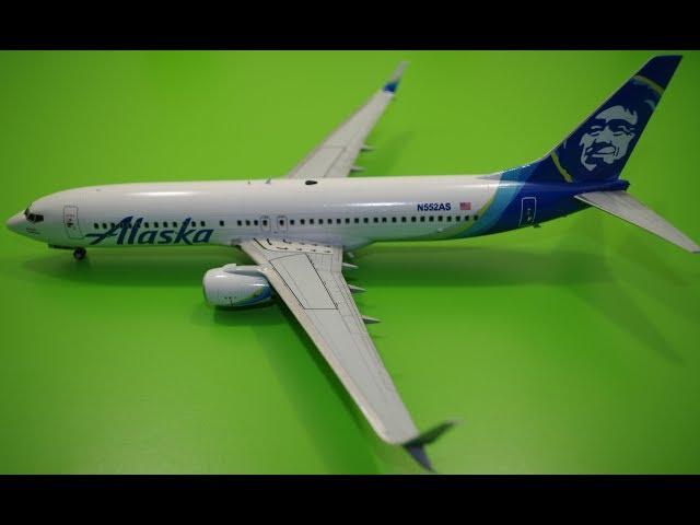 Сборка Боинг 737-800 - Звезда 1:144
