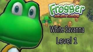 Frogger Ancient Shadow White Savanna Level 1
