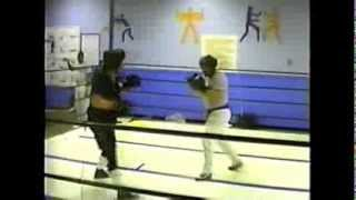 Michael Dunn (age 35) Boxing Fail at Ft Lewis, WA (February 1990)