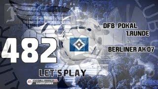Let's Play Fußball Manager 13 - #482 DFB-Pokal 1. Runde - Berliner AK 07 | ᴴᴰ