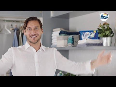 Dash PODS - Francesco Totti E Il Nuovo Fuoriclasse Del Bucato