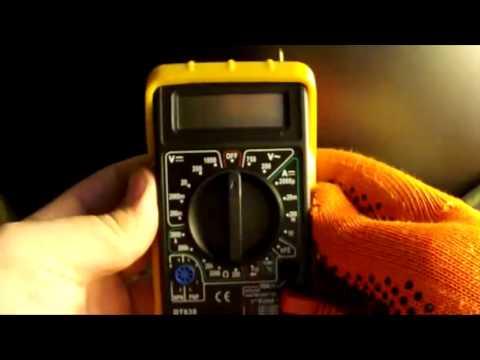 Мультиметр Multimeter DT 838 - Как пользоваться мультиметром