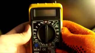 Мультиметр Multimeter DT 838 - Как пользоваться мультиметром(Мультиметр DT 838 - http://ali.pub/m7p1n Как пользоваться мультиметром DT 838 инструкция на русском языке, видеоурок от..., 2012-12-13T11:20:16.000Z)
