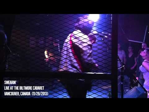 Swearin' - Live @ Biltmore Cabaret in Vancouver, Canada (11/29/2013)