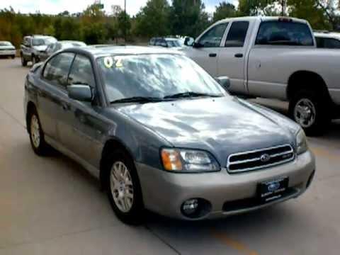 Sold 2002 Subaru Outback Vdc Sedan All Wheel Drive W H6 30l V6