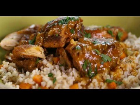 Quinoa(Healthy Rice Alternative) With Brown Stew Chicken