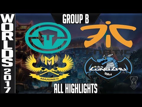 Worlds 2017 Highlights ALL GAMES Week 2 Day 1 Group B + TIE BREAKERS World Championship 2017