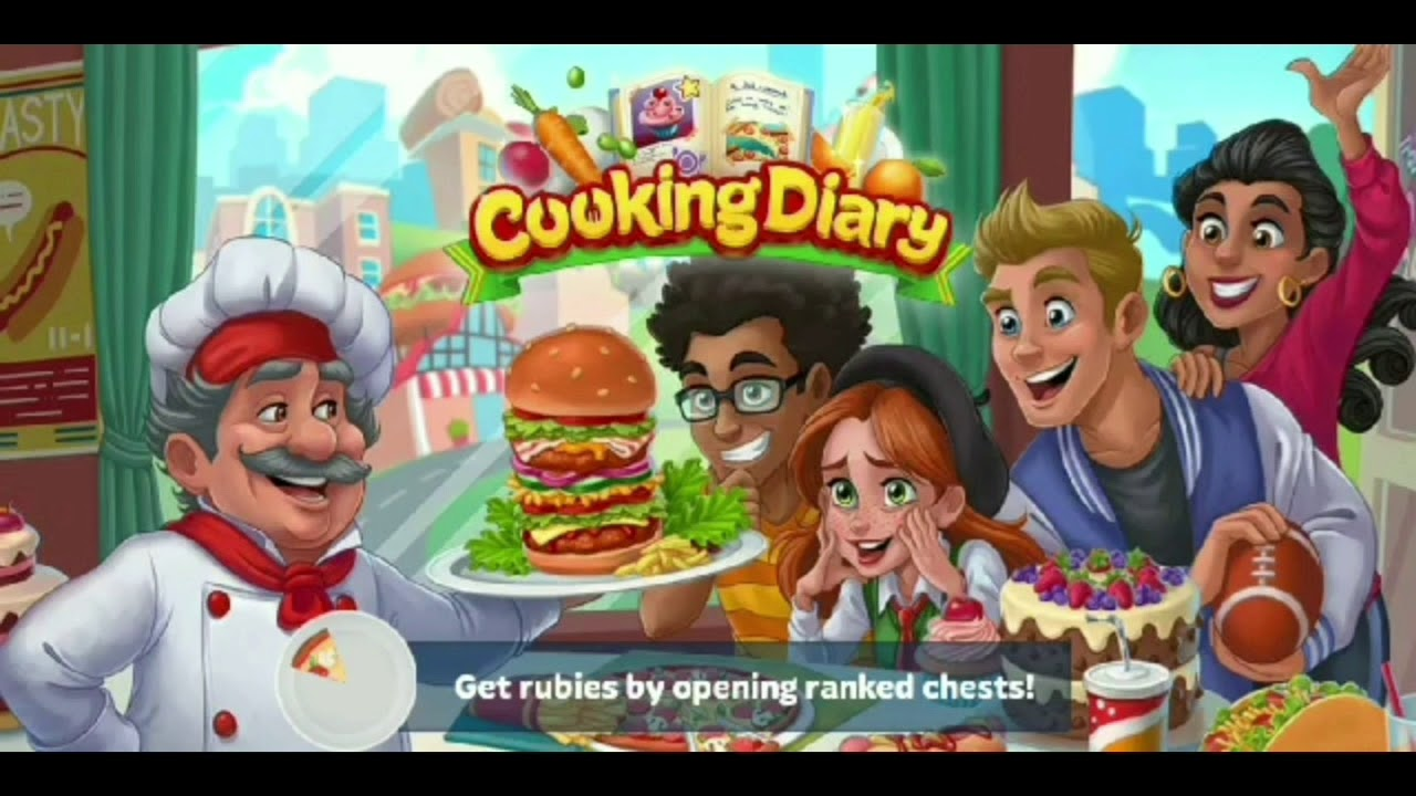 COOKING DIARY UNLIMITED GEM AND MONEY LEGIT ❤