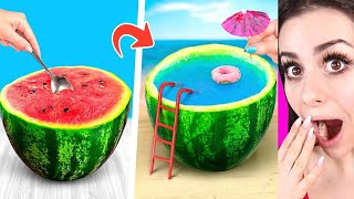 Amazing Watermelon LIFE HACKS and Pranks