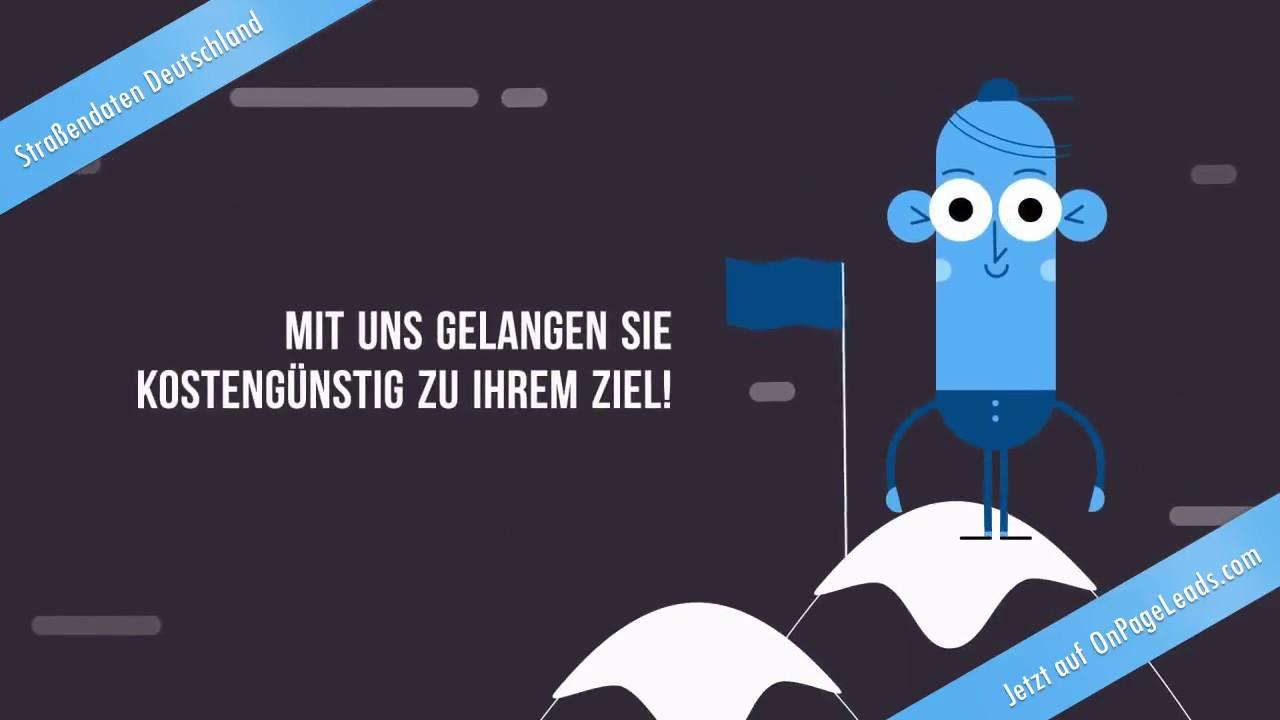Straßenverzeichnis Deutschland Download Freeware