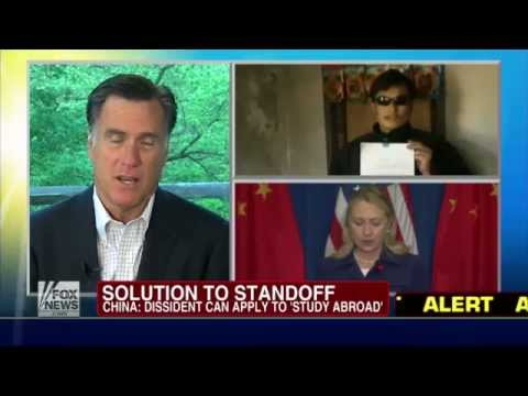Fox & Friends: Mitt Romney On China, Unemployment, & Richard Grenell 5/4/12