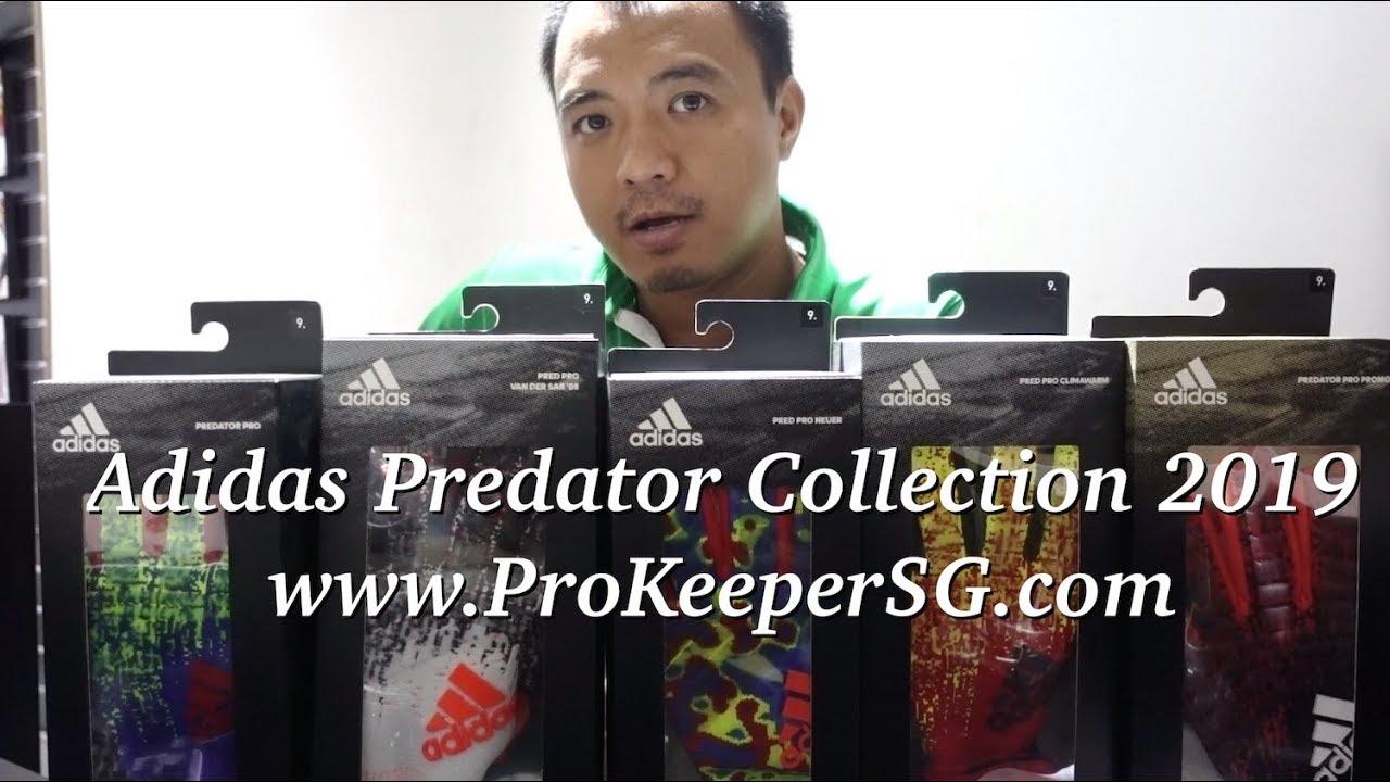Review phân biệt dòng găng thủ môn chính hãng Adidas Predator 2019 tại shop www.ProKeeperSG.com