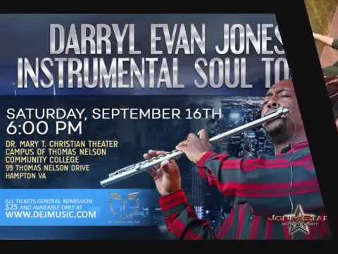 Darryl Evan Jones Instrumental Soul Tour Hampton Commercial Video
