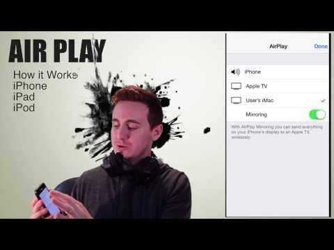 Airplay IOS 8 How To Activated , Mirroring IPhone IPad IPod Apple Tv