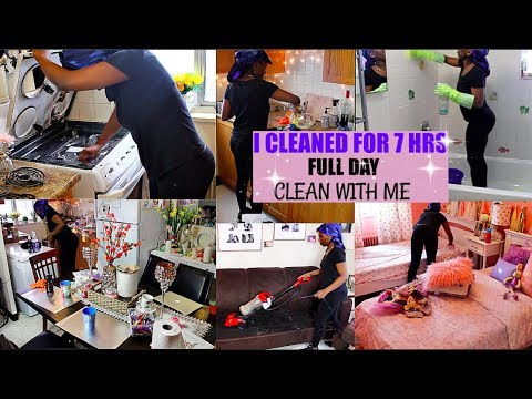 Motivational Clean With Me | My Entire House| Weekend Clean| Abiandbabyy