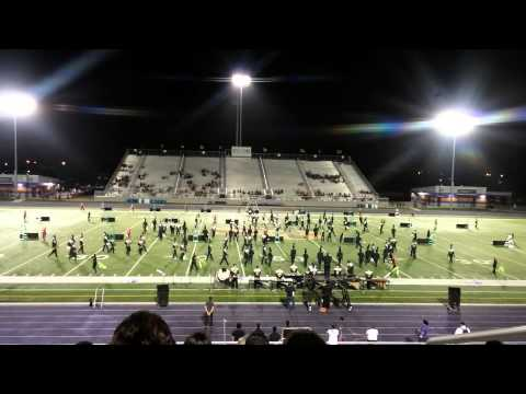 Lopez High School Marching Band at Pigskin Competition 2014