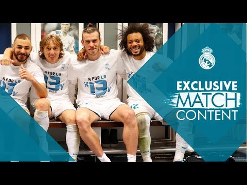 BENZEMA, RONALDO, RAMOS and their teammates take you through our victory against Bayern Munich