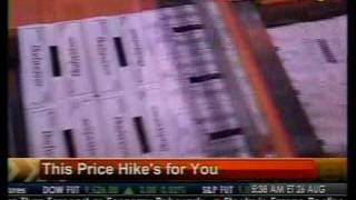 The Price Hike's For You - Bloomberg
