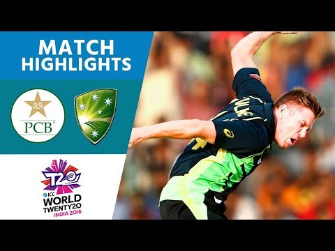 ICC WT20 Australia vs Pakistan Match Highlights